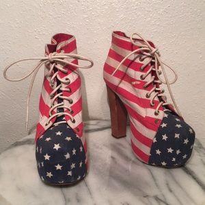 American Flag Jeffrey Campbell Lita's